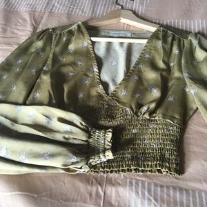 Urban Outfitters Satin Top, XS